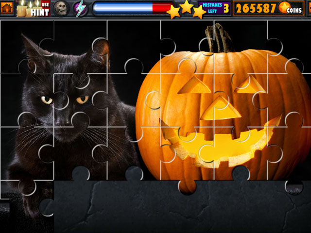 Halloween Jigsaw Puzzle Stash large screenshot