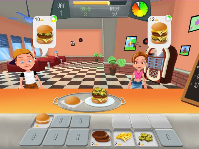 Burger Rush large screenshot