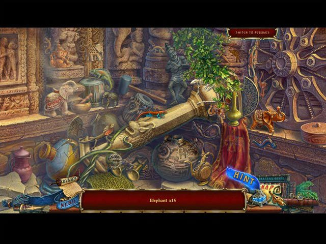 Forgotten Books: The Enchanted Crown Collector's Edition large screenshot