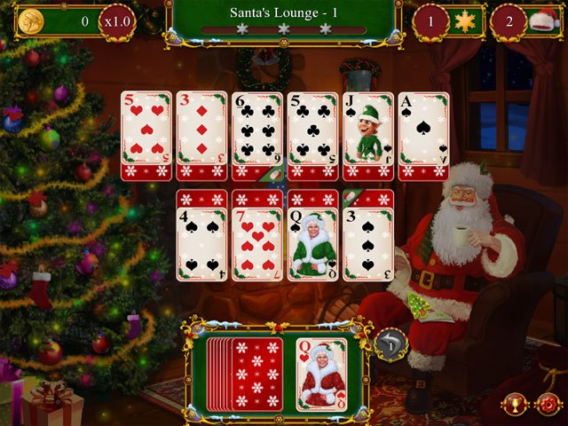 Santa's Christmas Solitaire large screenshot