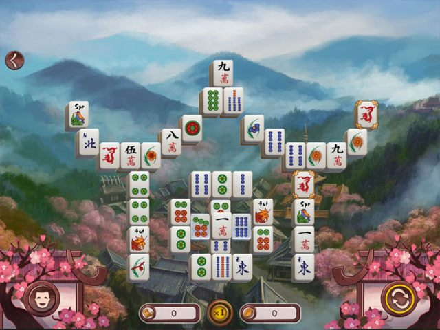 Sakura Day 2 Mahjong large screenshot
