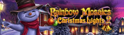 Rainbow Mosaics: Christmas Lights 2 screenshot