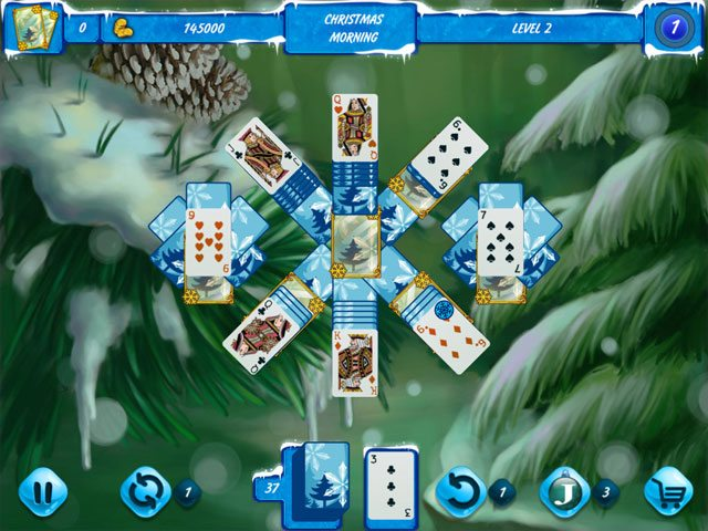 Solitaire Jack Frost Winter Adventures large screenshot