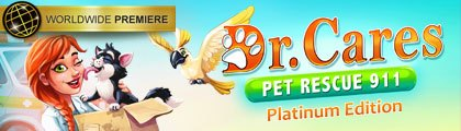 Dr. Cares - Pet Rescue 911 Platinum Edition screenshot
