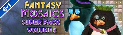 Fantasy Mosaics Super Pack - Volume 3 screenshot
