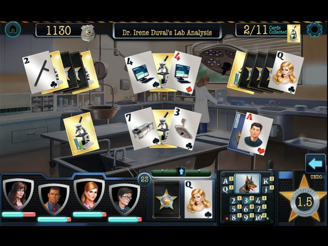 Double Clue - Solitaire Stories large screenshot