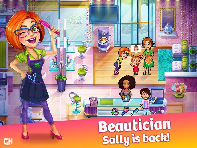 Sally's Salon: Beauty Secrets Screen_1