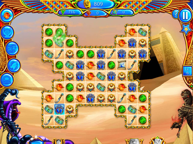 Legend of Egypt: Jewels of the Gods large screenshot