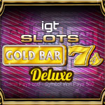 IGT Slots Gold Bar 7's Deluxe