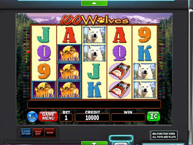 IGT Slots 100 Wolves Deluxe large screenshot