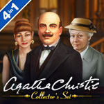 Agatha Christie Collectors Set 4-in-1