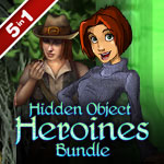 Hidden Object Heroines Bundle 5 in 1