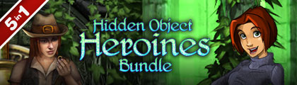 Hidden Object Heroines Bundle 5 in 1 screenshot