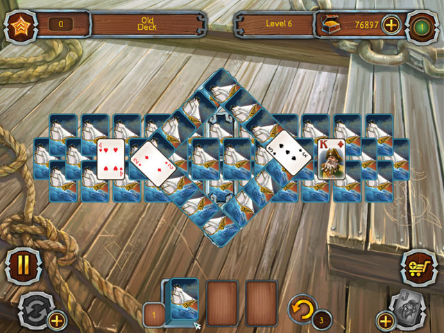 Pirate Solitaire large screenshot