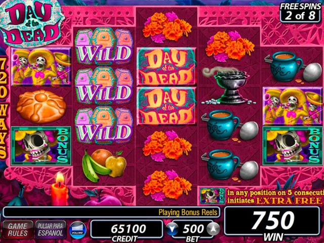 IGT Slots: Day of the Dead large screenshot