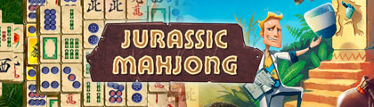 Jurassic Mahjong screenshot