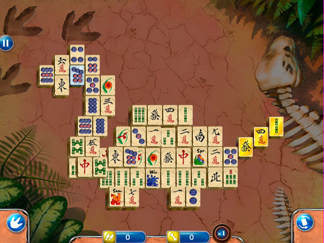 Jurassic Mahjong large screenshot