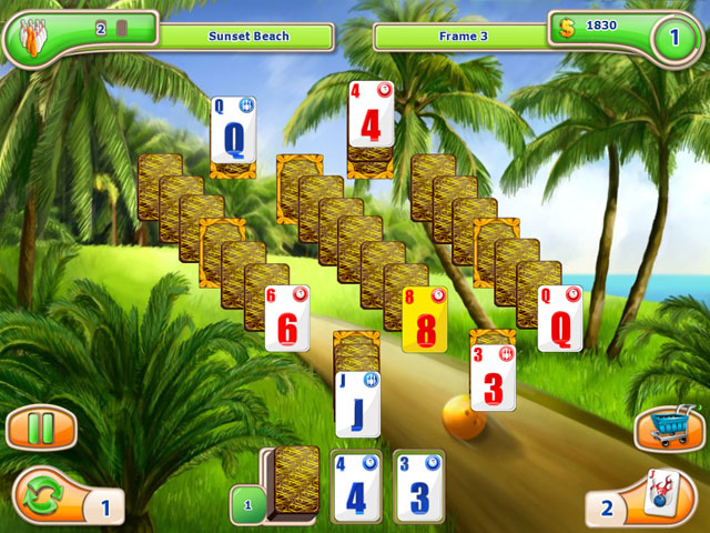 Strike Solitaire 3 - Dream Resort large screenshot