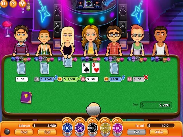 Hometown Poker Hero Solitaire Screen_3