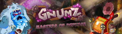 Gnumz - Masters of Defense screenshot