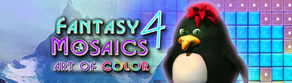 Fantasy Mosaics 4 - Art of Color screenshot