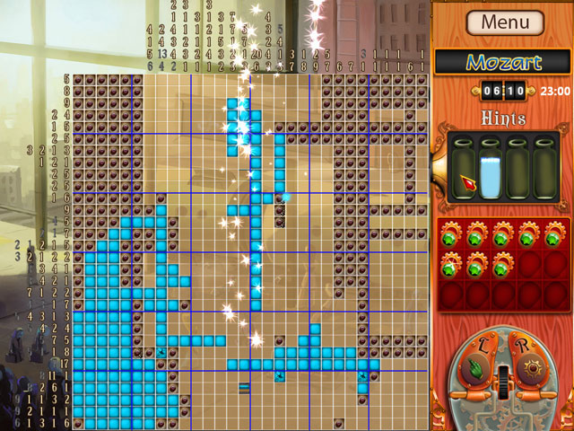 Gizmos 1: Riddle of the Universe (Picross/Jigsaw) Screen_3