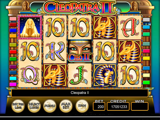 IGT Slots Cleopatra II large screenshot
