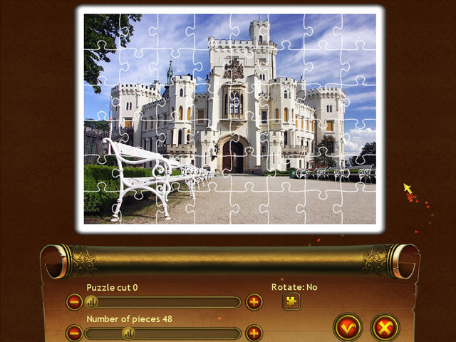 Royal Jigsaw 3 large screenshot