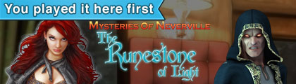 Mysteries of Neverville - The Runestone of Light screenshot