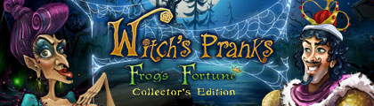 Witch's Pranks - Frog's Fortune Premium Edition screenshot