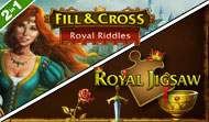 Fill and Cross Royal Riddles with Royal Jigsaw
