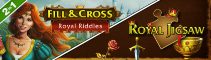 Fill and Cross Royal Riddles with Royal Jigsaw screenshot