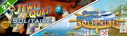 Jewel Quest Solitaire with Dream Vacation Solitaire screenshot