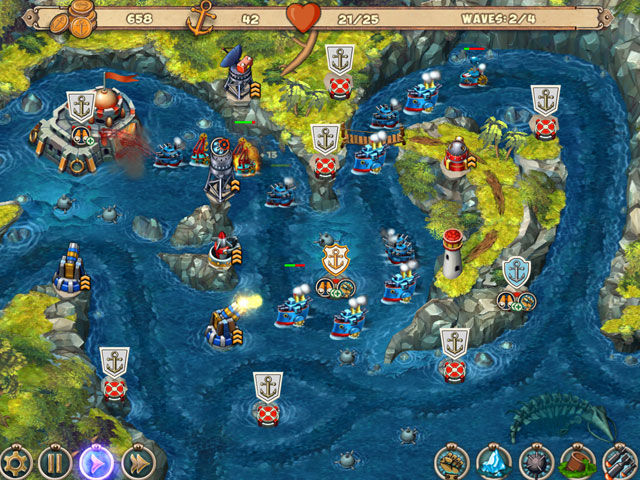 Iron Sea Defenders large screenshot