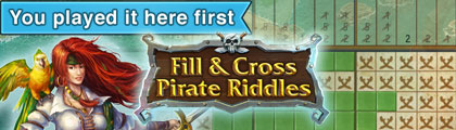 Fill and Cross: Pirates Riddles screenshot