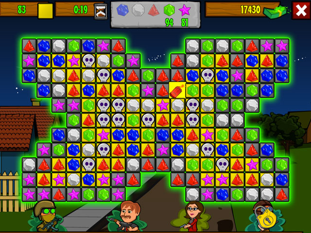 Zombie Jewel Screenshot 1