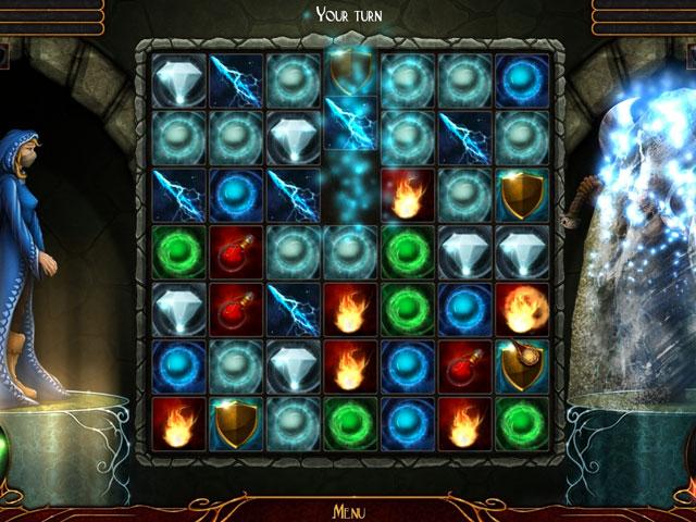 Quest for the Sorceress (Battle Match-3) Screen_2