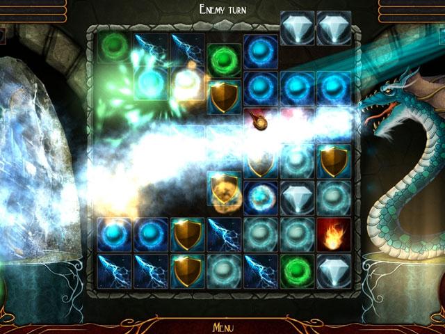 Quest for the Sorceress (Battle Match-3) Screen_3