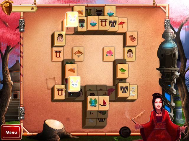 2D Mahjong Temple Screen_2