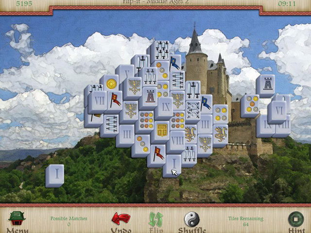 Mahjongg: Legends of the Tiles large screenshot