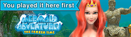 Mermaid Adventures: The Frozen Time screenshot