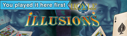 Hoyle Illusions screenshot