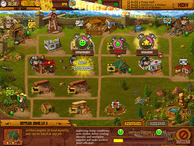 Settlers of the West large screenshot