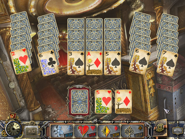 Solitaire Mystery: Four Seasons large screenshot