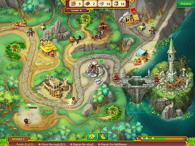 Kingdom Chronicles Collector's Edition large screenshot