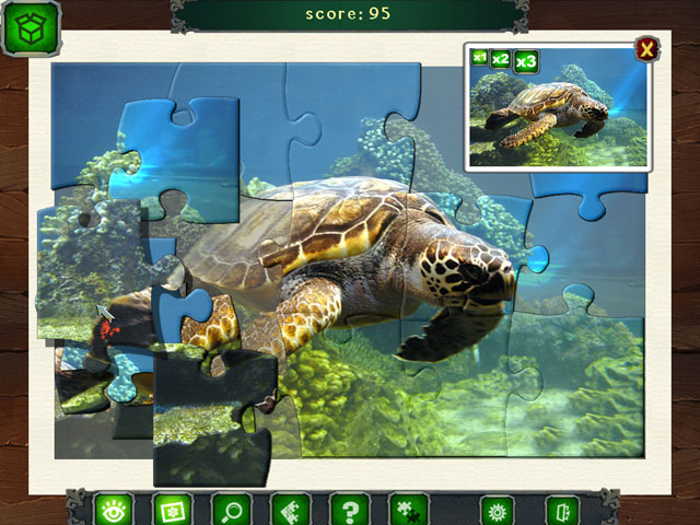 Caribbean Jigsaw large screenshot