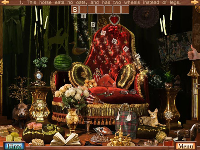 Hidden Object Crosswords Screenshot 1