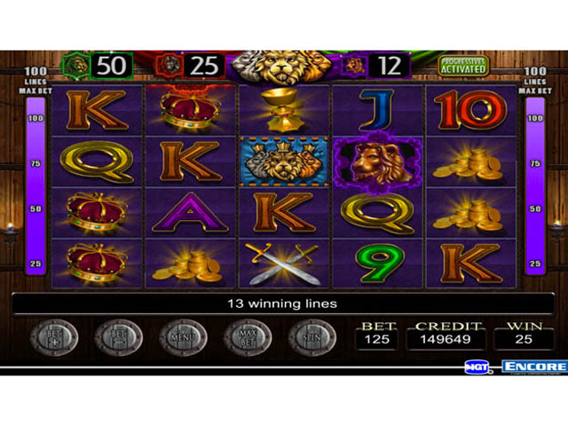 IGT Slots Three Kings large screenshot