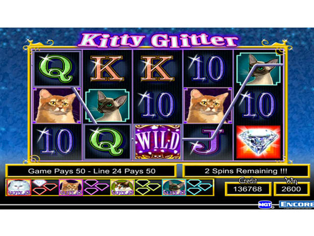 IGT Slots Kitty Glitter large screenshot