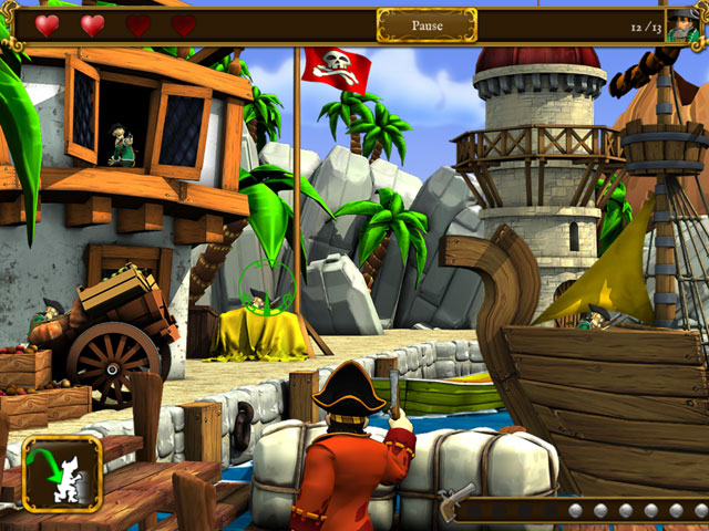 Pirates vs Corsairs: Davey Jone's Gold large screenshot